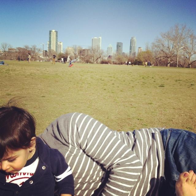 Zilker Park. Austin, TX.